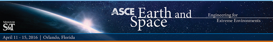 ASCE Earth and Space 2016